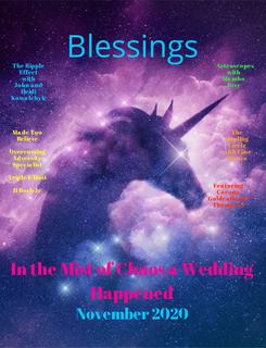 Blessings November book cover