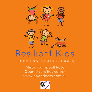 Resilient Kids book cover