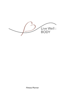 Live Well: Body book cover