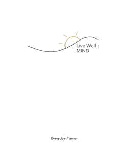 Live Well: Mind book cover