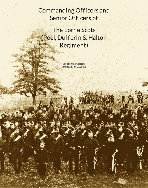 Commanding Officers  of The Lorne Scots