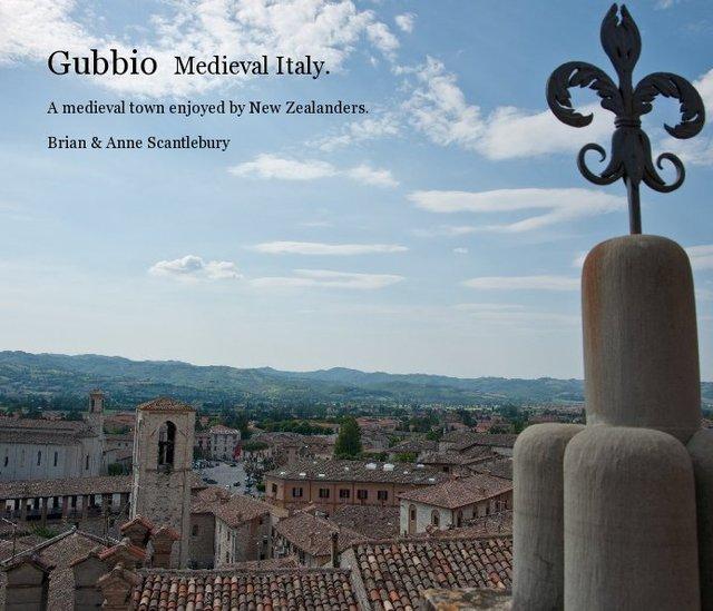 Gubbio Medieval Italy.