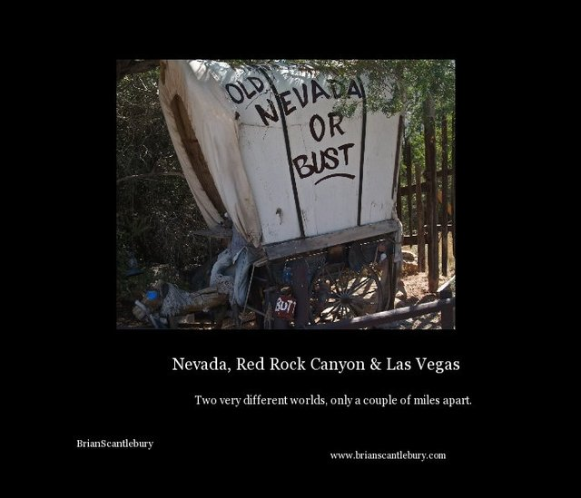 Nevada, Red Rock Canyon & Las Vegas