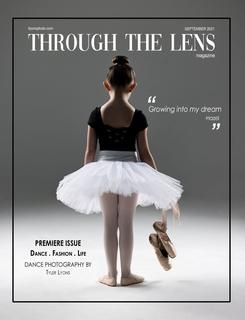 Through the Lens Magazine book cover