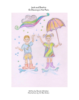 Jack and Beatrix Go Dancing in the Rain book cover