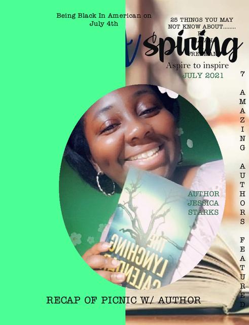 July Edition of AspiringAuthorsMagazine