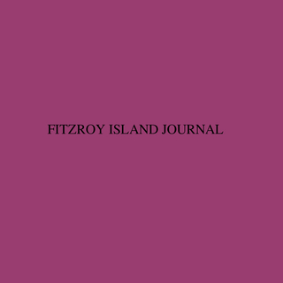 FITZROY ISLAND JOURNAL book cover
