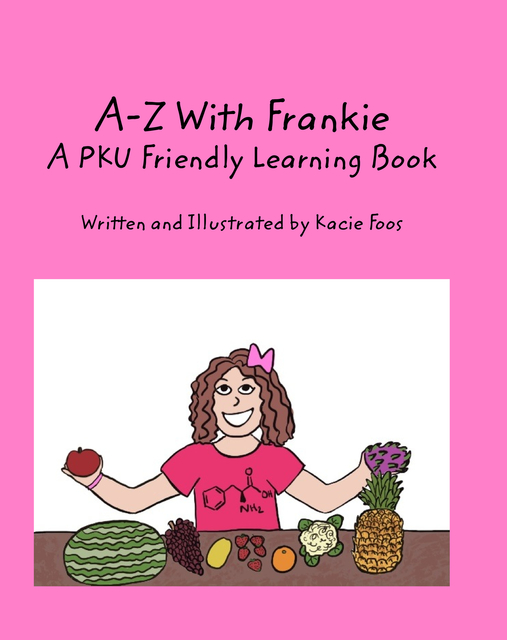 A-Z With Frankie A PKU Friendly Learning Book