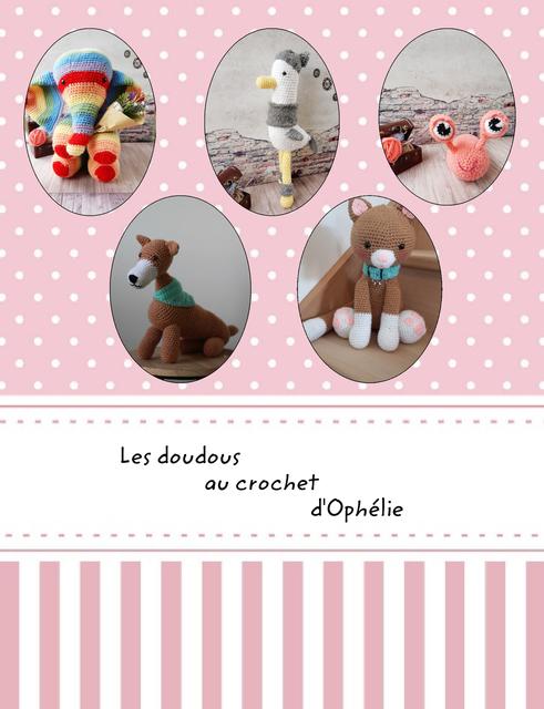 Les doudous au crochet d'Ophélie