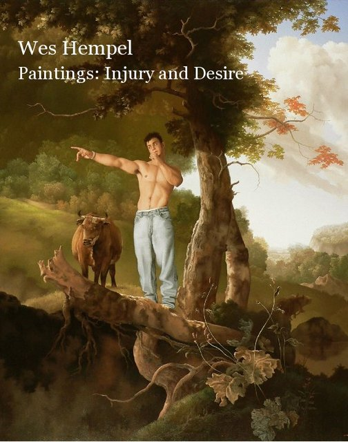 Wes Hempel Paintings: Injury and Desire