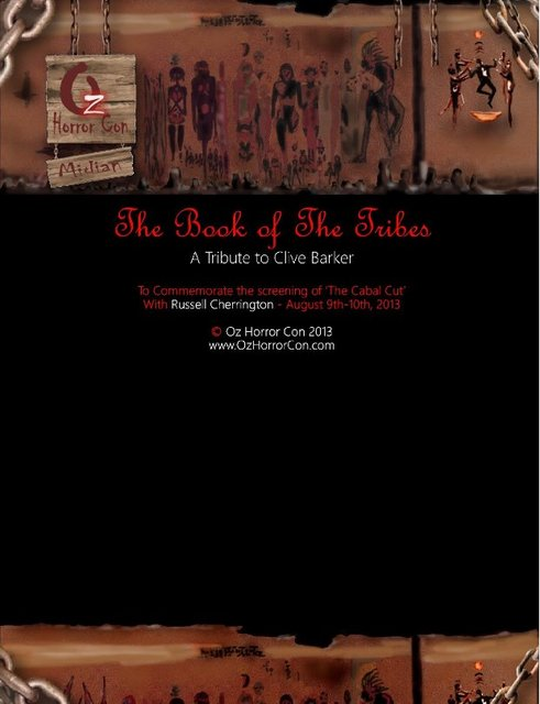 Book of The Tribes
