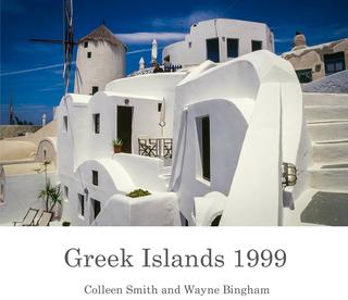 Greek Islands 1999 book cover
