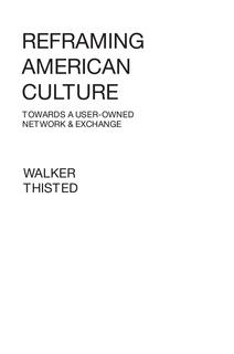 Reframing American Culture - eBook Edition book cover