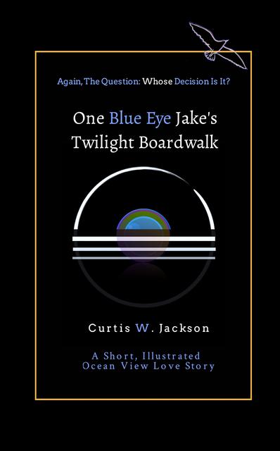 One Blue Eye Jake's Twilight Boardwalk