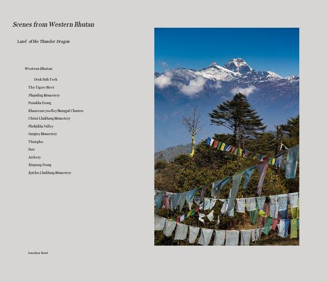 Scenes from Western Bhutan