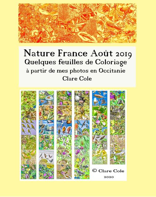 Nature France Août 2019: Quelques feuilles de Coloriage