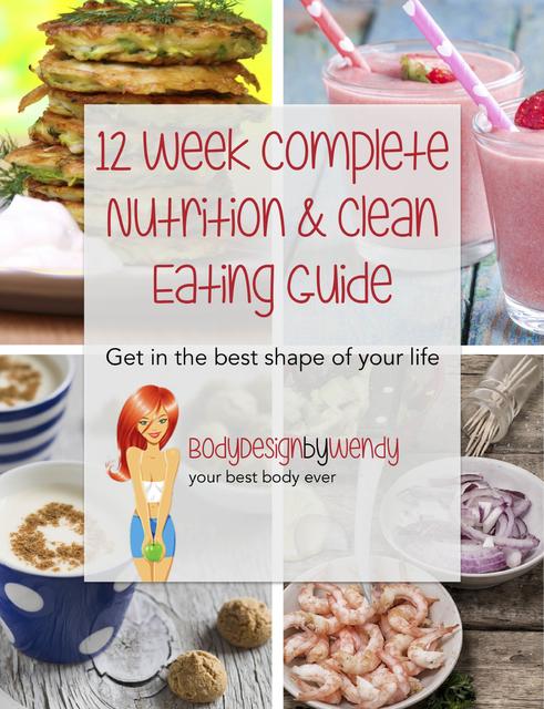 12 Week Nutrition & Clean Eating Plan