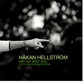 Håkan Hellström, Way Out West 2010 book cover