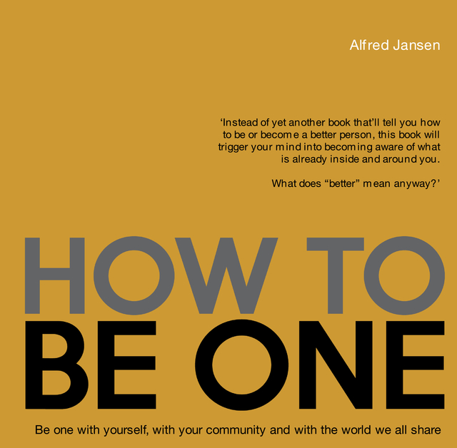 How To Be One