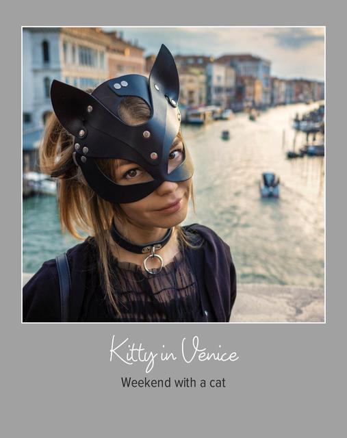 Kitty in Venice.