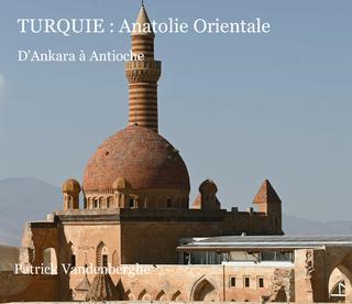 Turquie Anatolie Orientale book cover