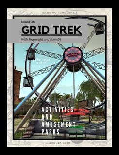 Grid Trek Magazine August 2020 Issue book cover