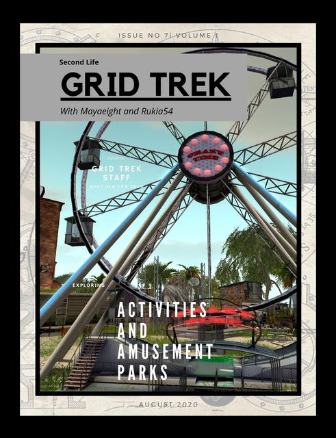 Grid Trek Magazine August 2020 Issue