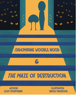Thwomping Woodle Noop and the Maze of Destruction book cover