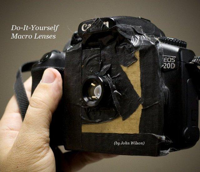 Do-It-Yourself Macro Lenses (by John Wilson)