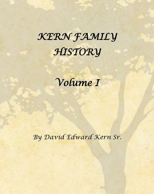 Kern Family History Volume I