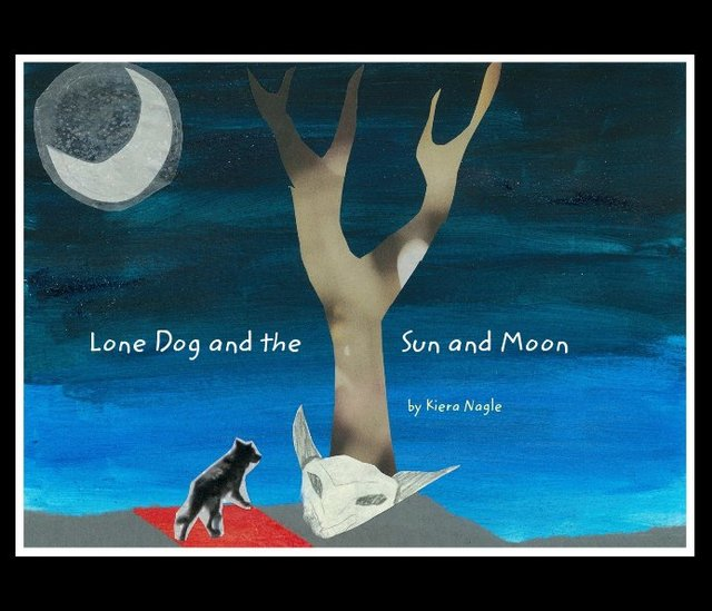 Lone Dog and the Sun and Moon