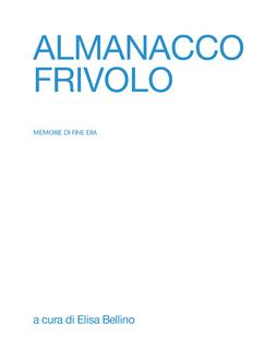 ALMANACCO book cover