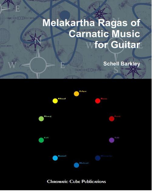 Melakartha Ragas of Carnatic Music for Guitar