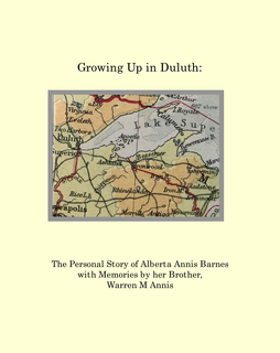 Growing Up in Duluth book cover
