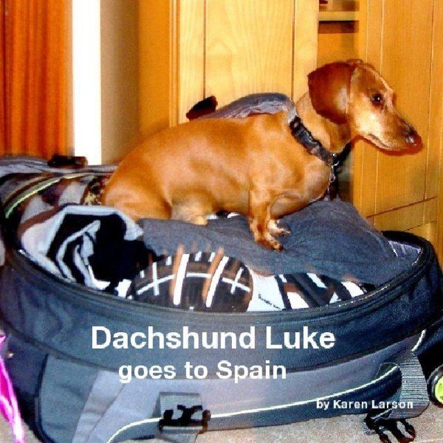 Dachshund Luke goes to Spain by Karen Larson