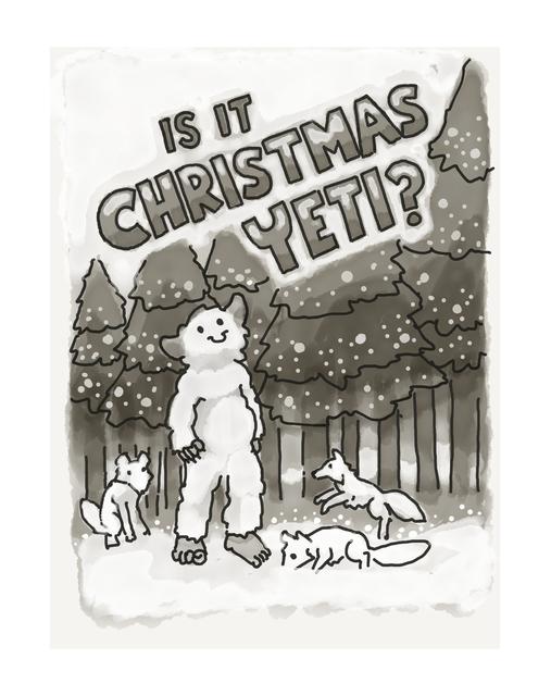 Is It Christmas Yeti?