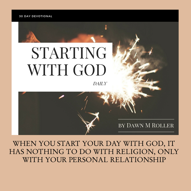 STARTING WITH GOD DAILY