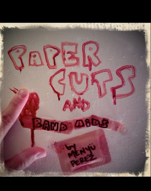 paper cuts and band aids