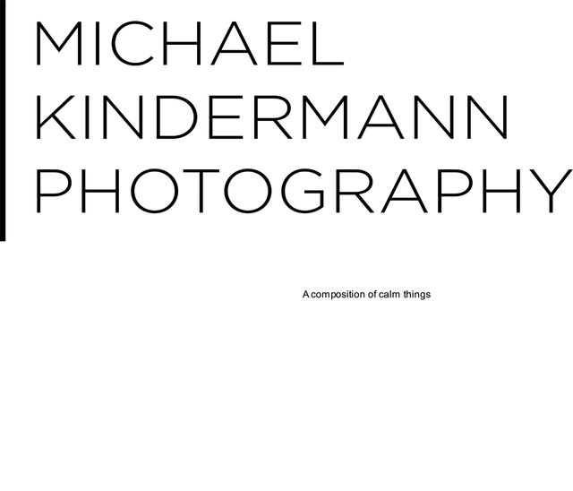 MICHAEL KINDERMANN PHOTOGRAPHY