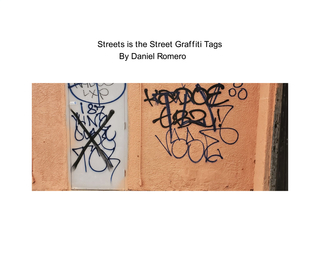 Streets is the Street Graffiti Tags book cover