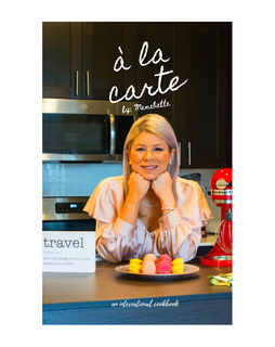 à la carte book cover