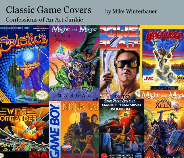 Classic Game Covers
