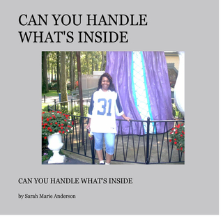 Can  you handle what's inside book cover