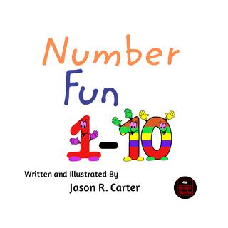 Number Fun 1 - 10 book cover