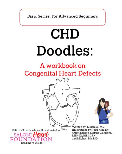 CHD Doodles: A Workbook on Congenital Heart Defects