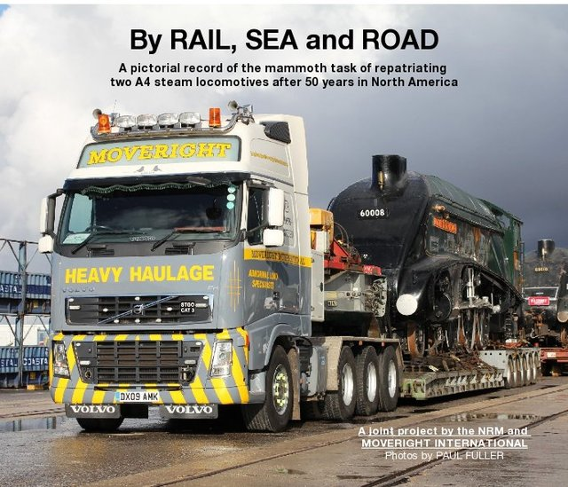 By RAIL, SEA and ROAD