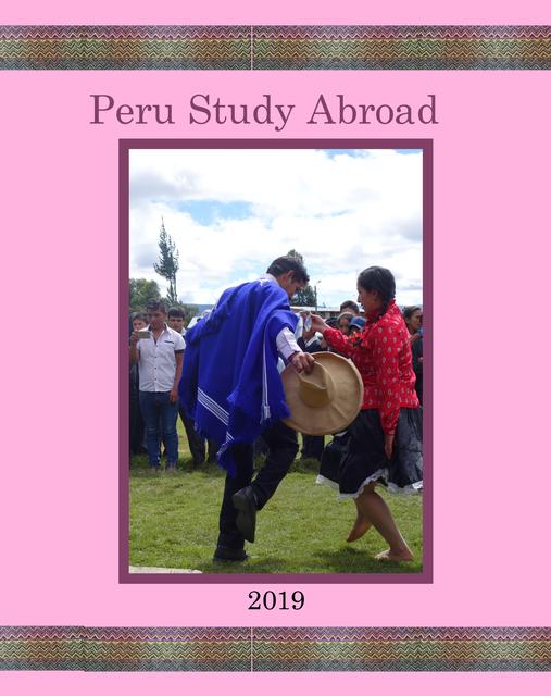 Peru Study Abroad 2019