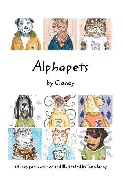 Alphapets by Clancy